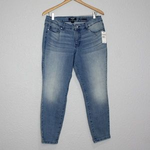 Nine West Cigarette Skinny Ankle Crop Jeans NWT